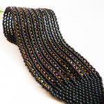 Fantasy. Glamour Black Bead woven C..